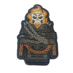 PATCH LEGO GHOST RIDER PVC 3D