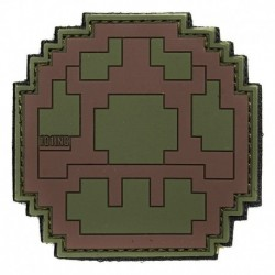 PATCH LIFE UP GREEN / BROWN RUBBER